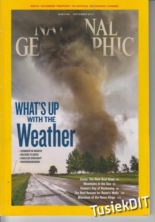 National Geographic- 2012 - wersja angielska