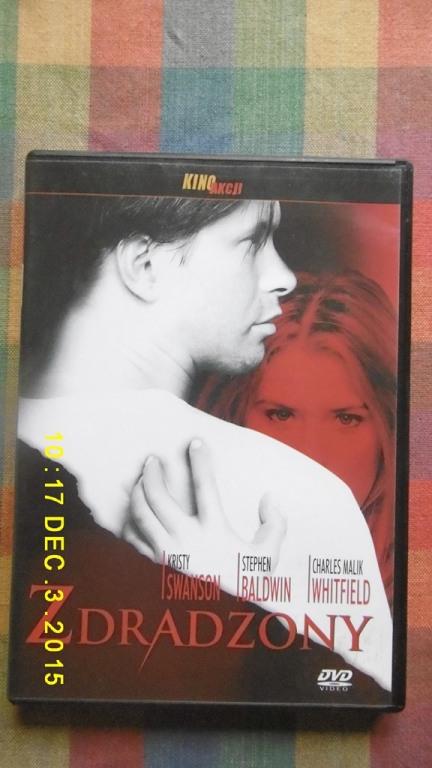 Zdradzony - plyta DVD