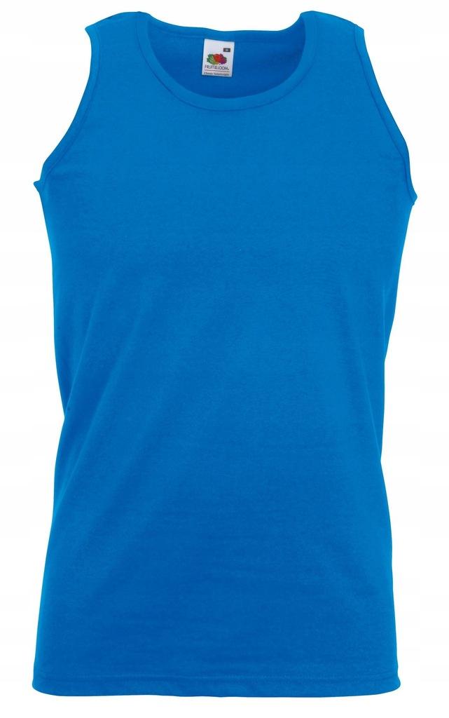 Koszulka FRUIT męski podkoszulek Royal Blue S