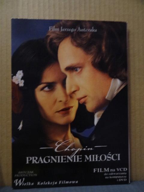 VCD Chopin Pragnienie miłości