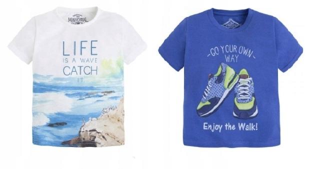 2 t-shirty MAYORAL 110 5 lat 1 Nowy, 1 jak NOWY