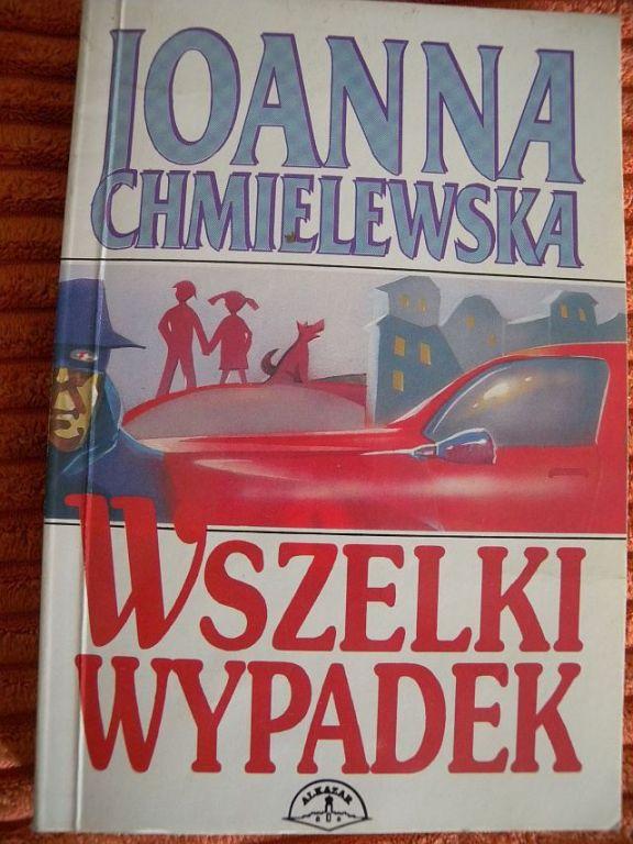 J. CHMIELEWSKA WSZELKI WYPADEK PIERWSZE WYDANIE