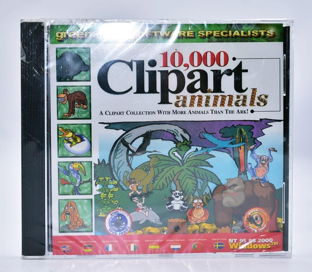 4618-56 ...GST SOFT CLIPART ANIMALS... k#o GRA