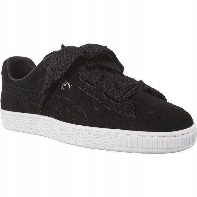 Sneakersy Buty Damskie Puma SUEDE z kokardą 37