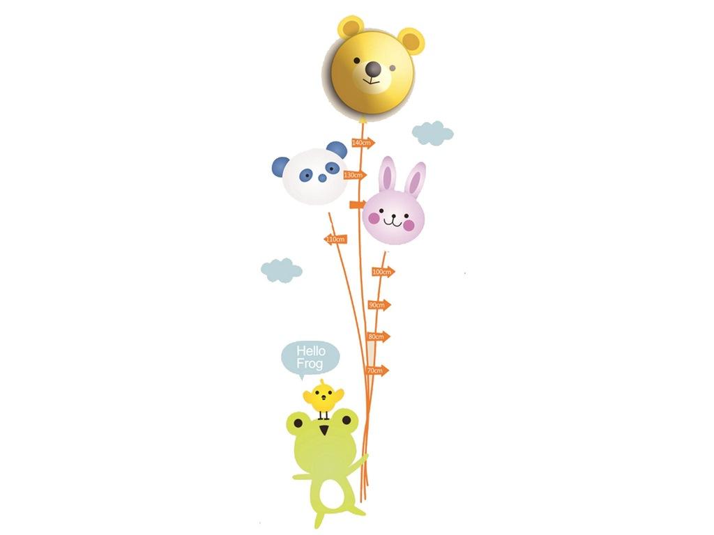 Lampka z naklejkami Miarka Wzrostu Dla Dziecka