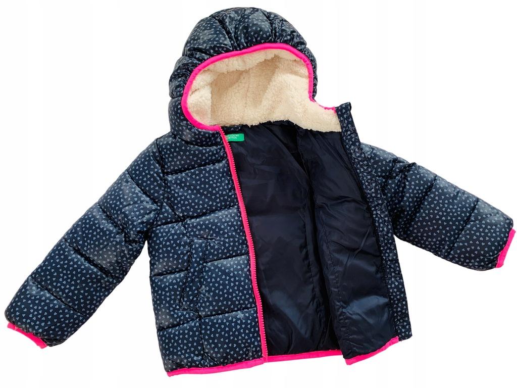 BENETTON kurtka zimowa 90 cm (1-2 lata)