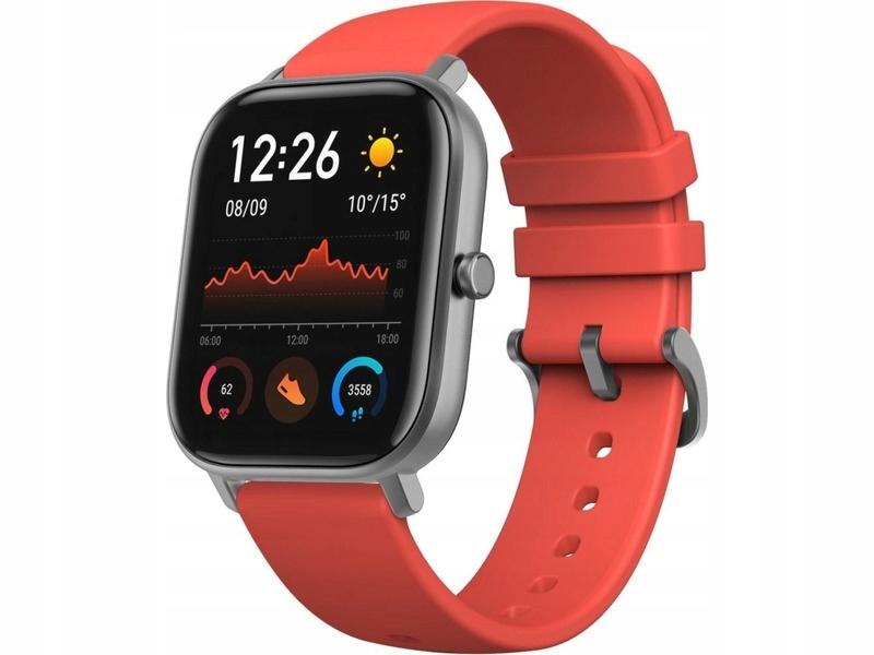 Pomarańczowy Smartwatch XIAOMI Amazfit GTS GPS