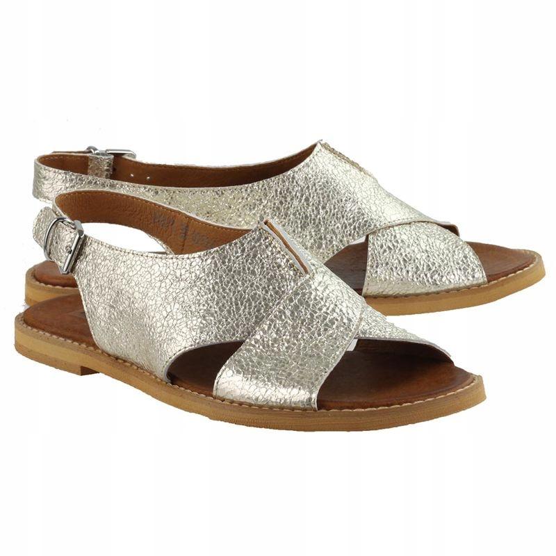 Sandały NESSI 18373 Złoto
