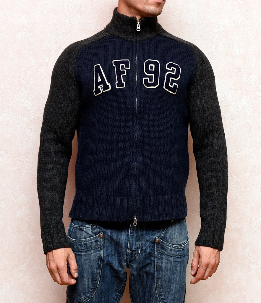 Oryginalny sweter Abercrombie&Fitch r.L ideal