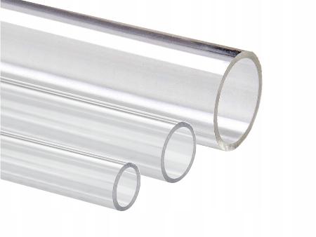 Rura z pleksi, plexi, PMMA, 15 mm/1, 50 cm