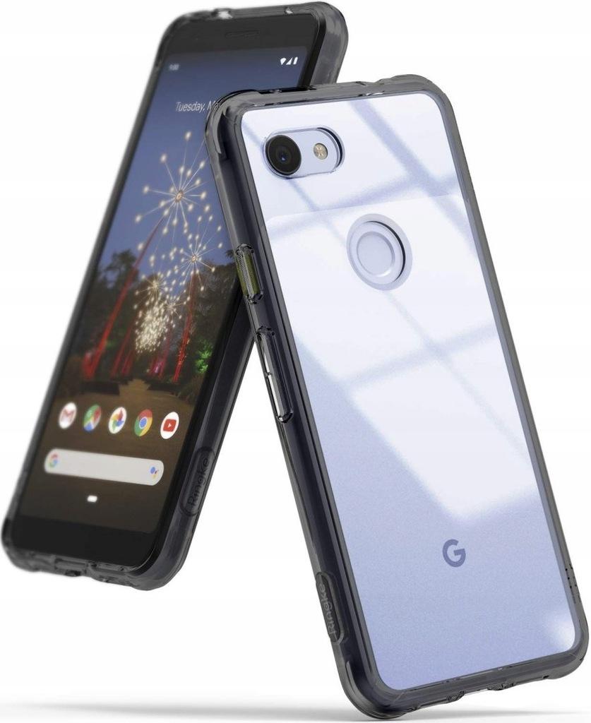 Etui Ringke Fusion Google Pixel 3a XL Smoke Black
