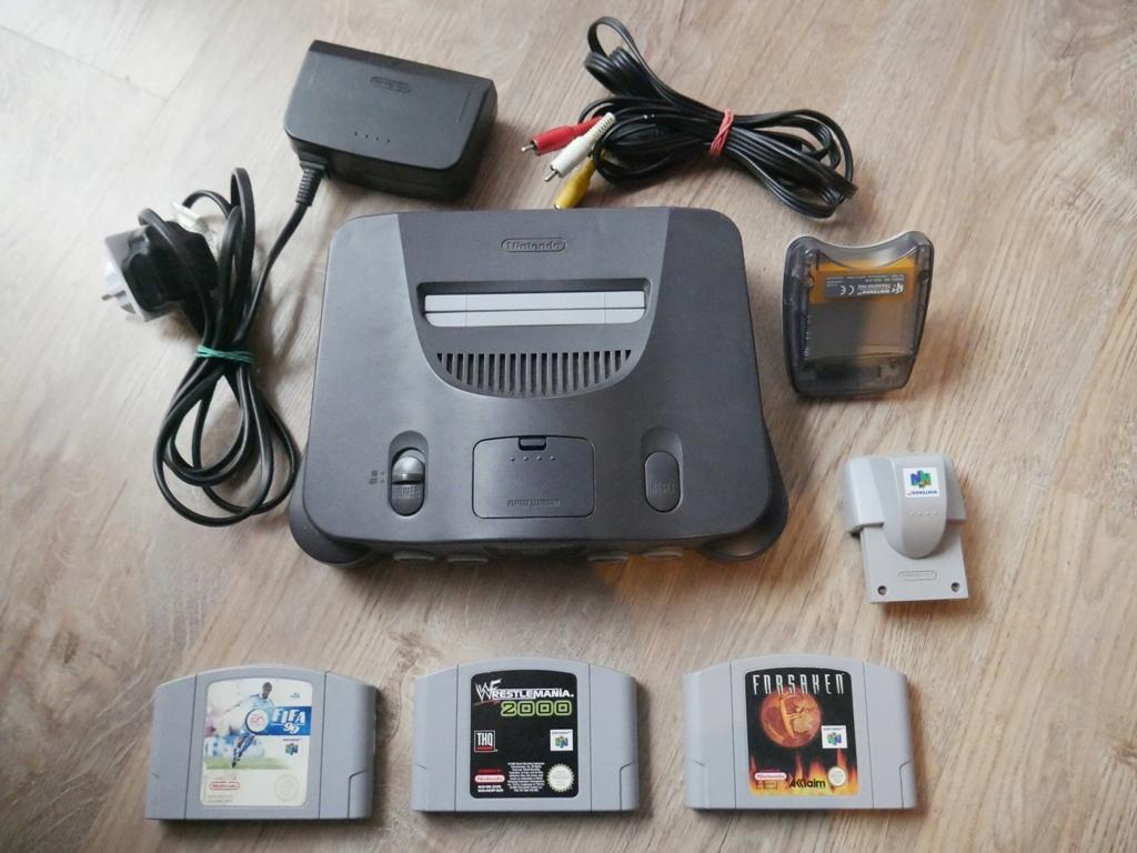 Nintendo 64 n64 gry