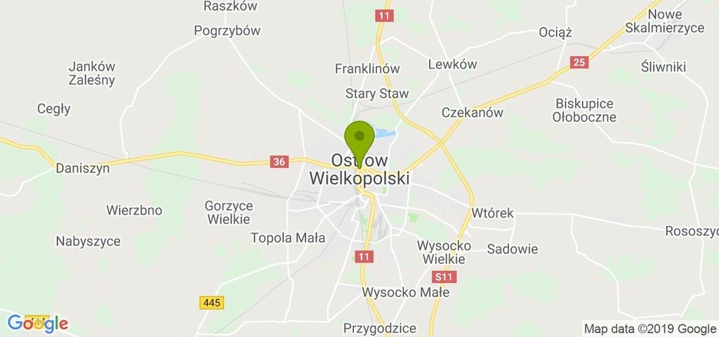 Mieszkanie Ostrów Wielkopolski, ostrowski, 60,00 m