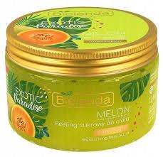 BIELENDA EXOTIC MELON - Peeling Cukrowy + GRATIS
