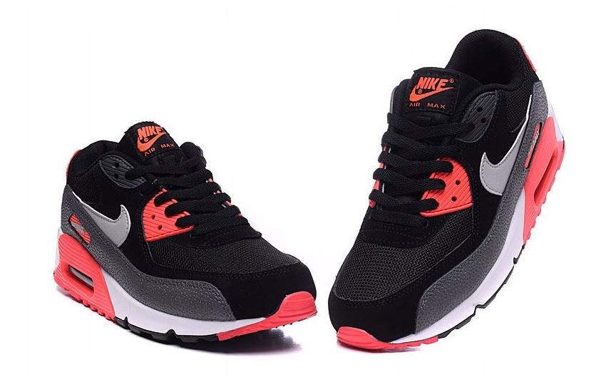 Buty Nike Air Max 90 Czarne Szare męskie r. 38.5