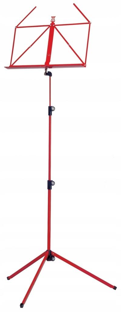 K&M 100/1 pulpit do nut składany czerwony