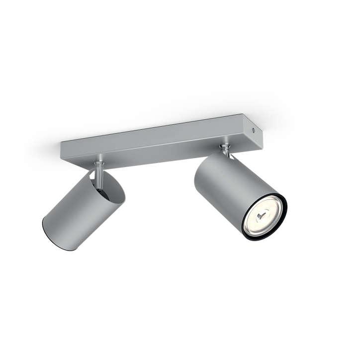 LAMPA SUFITOWA LISTWA KOSIPO LED GU10 50592/48/PN