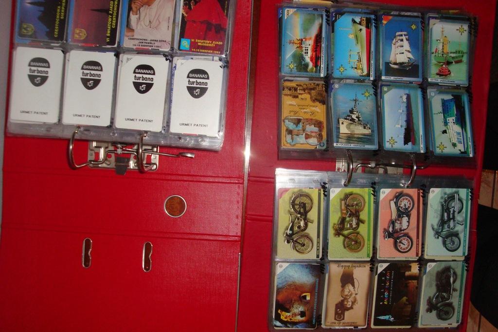 karty telefoniczne -magnetyczne