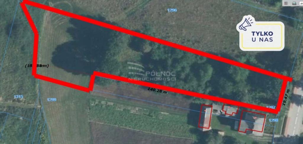 Działka, Daleszyce, Daleszyce (gm.), 4100 m²
