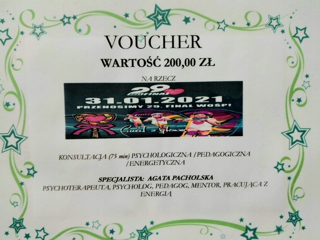 Voucher - Konsultacja Psychologiczna Pedagogiczna