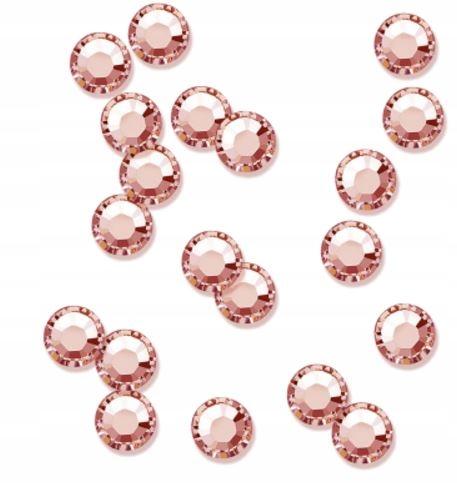 PEGGY SAGE 20x Cyrkonie do paznokci blush rose SS5