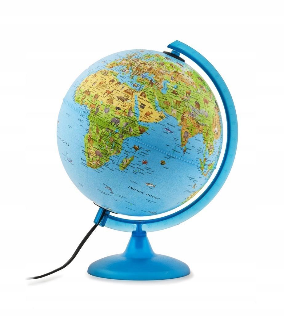 Globus podświetlany fizyczny. Safari.