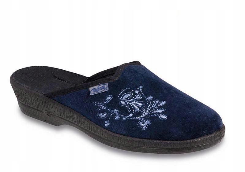 Pantofle kapcie klapki damskie Befado 219/426 R 38