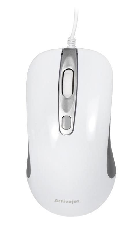 Mysz Activejet AMY-360 (optyczna; 1000 DPI; kolor