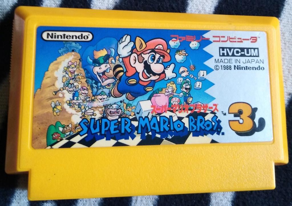 Kartridż (Cartrigde) Famicom - Super Mario Bros 3: