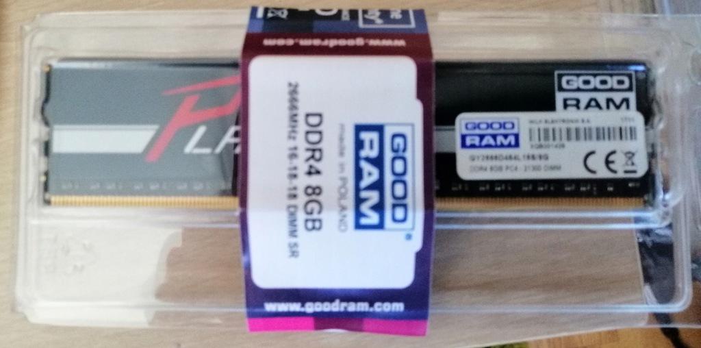 GOODRAM 8 GB DDR4 CL16 CL GY2666D464L16S/8G