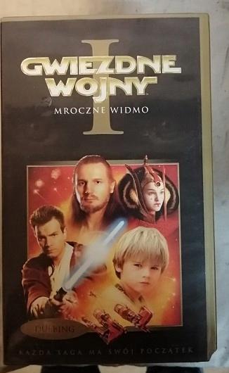 KASETA VHS - FILM - P7 - GWIEZDNE WOJNY 1