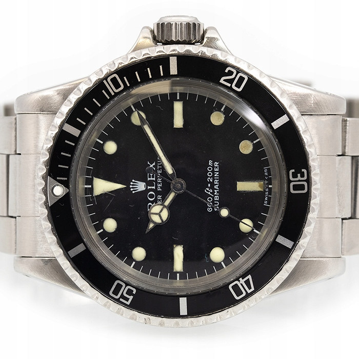 ROLEX SUBMARINER NO DATE 5513