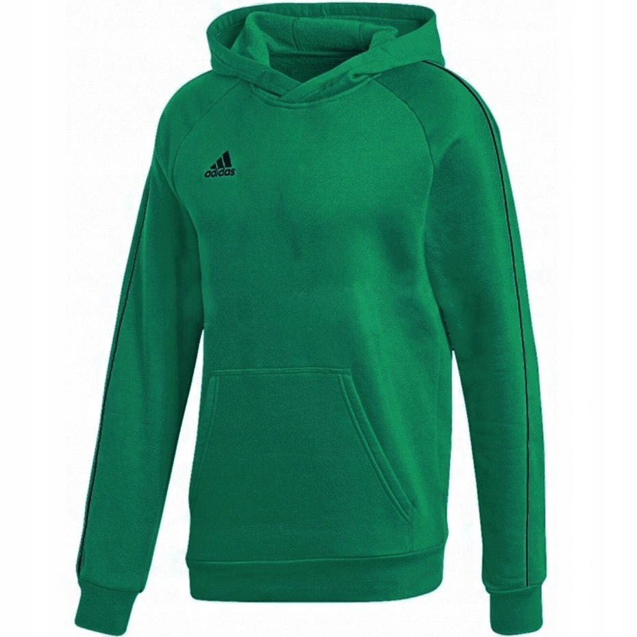 Bluza dziecięca z kapturem adidas zielona 128 cm
