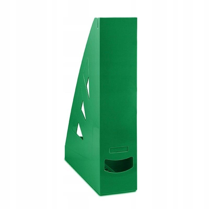 Pojemnik na dokumenty A4 zielony na czasopisma