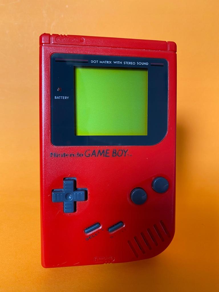 Game boy Klasyk DMG RED