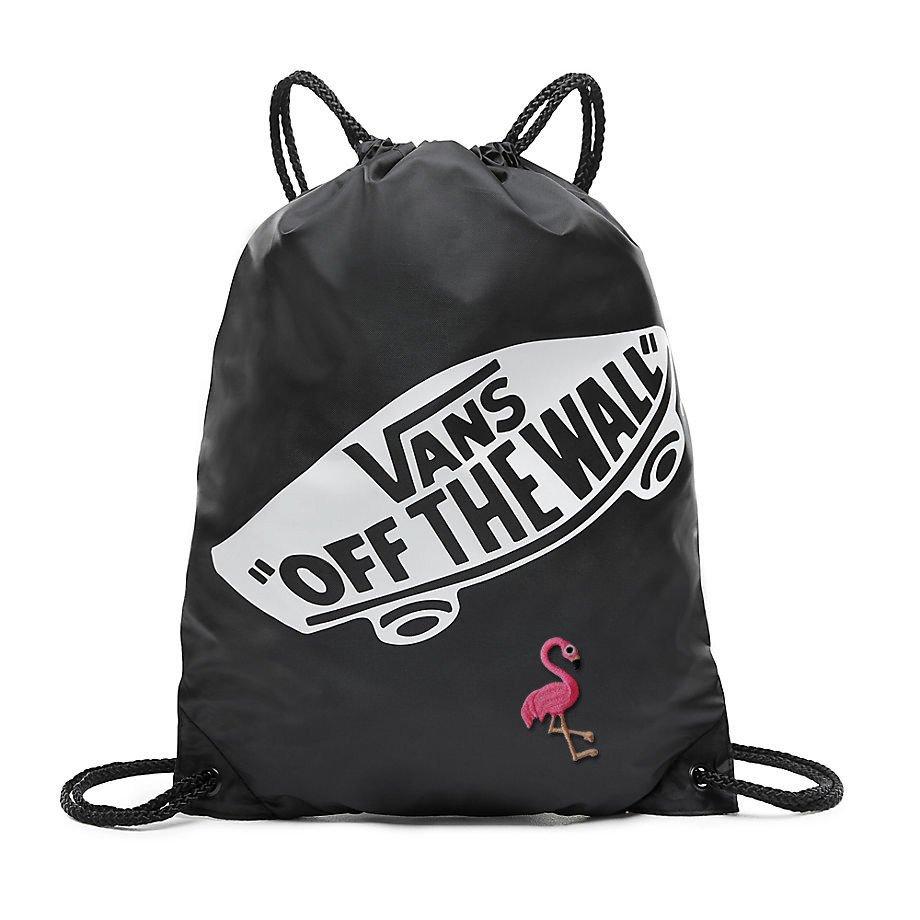 Worek Torba VANS Benched Bag Custom Flaming BLACK