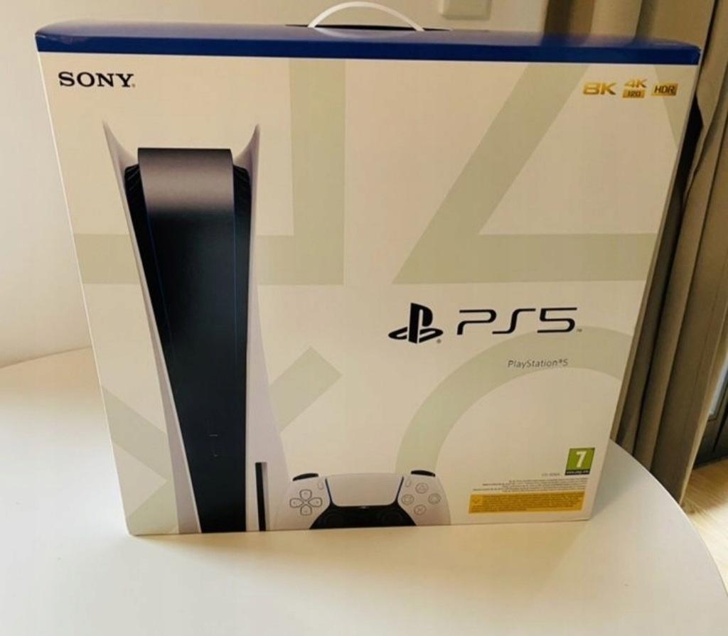 Sony PlayStation 5 napęd blu-ray Nowa Gw+3 gry