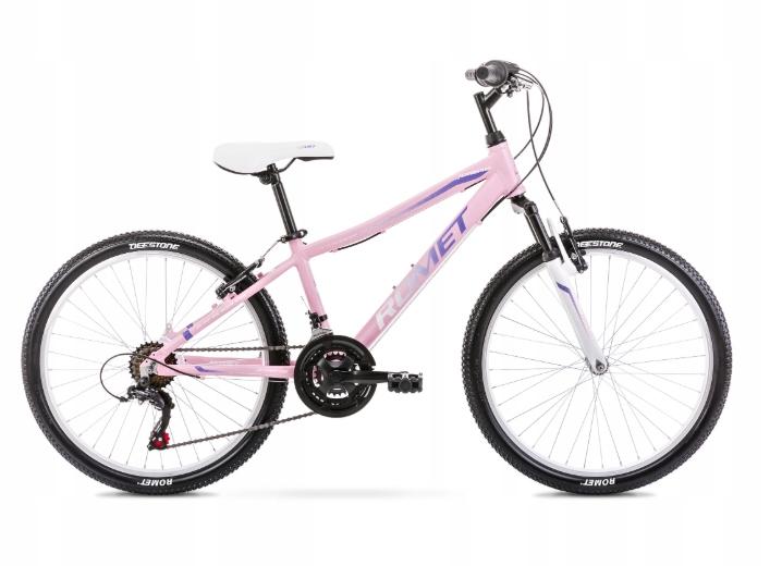 Rower dziecięcy Romet JOLENE 24 różowy 13 S 2020