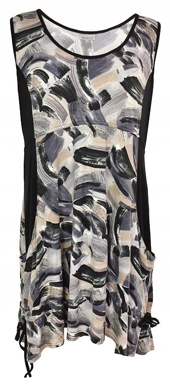 oAT1155 C&A modna tunika z kieszeniami 46