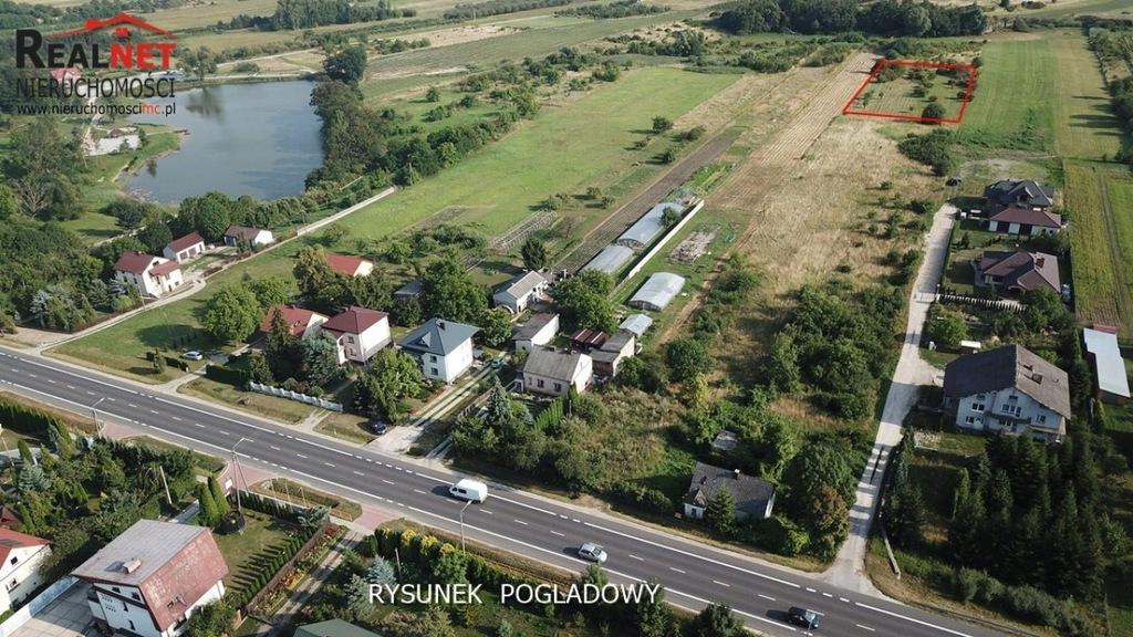Działka, Buski (pow.), 3031 m²