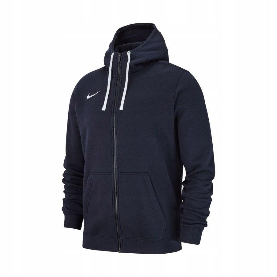 Bluza Nike Hoodie AJ1458 XL (158-170cm) granatowy