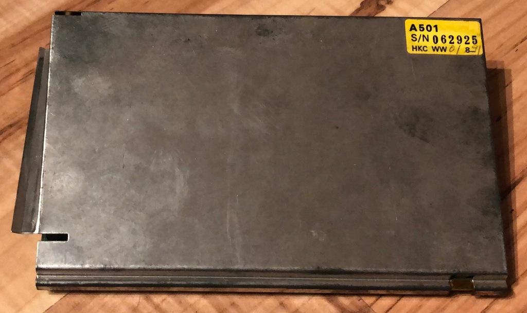 rozszerzenie pamięci A501 512kB Amiga 500/500+