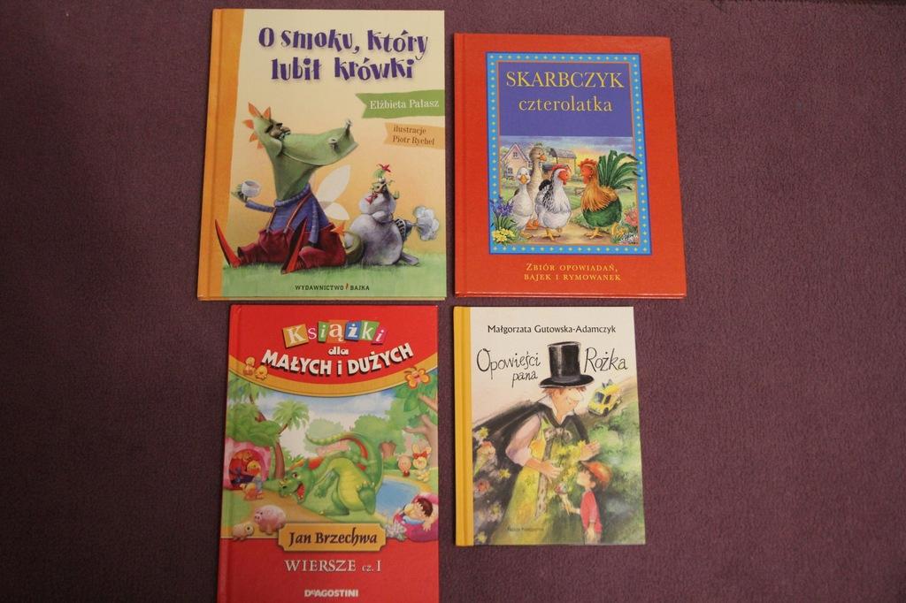 Książki I Wiersze Dla Dzieci 4 Sztuki 7719022218
