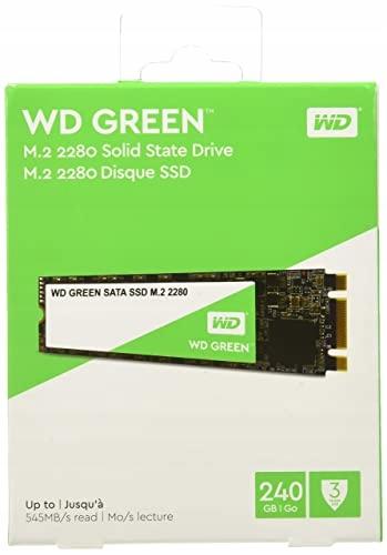 DYSK SSD WESTERN DIGITAL GREEN M.2 2280 SATA 240GB