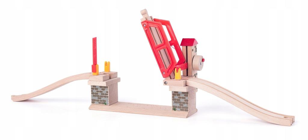 Rozbudowa kolejek Drewniany Most zwodzony składany