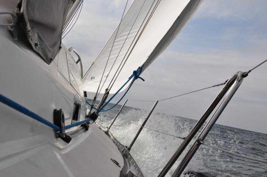 Udział w regatach Tall Ships Races z Akademią MW