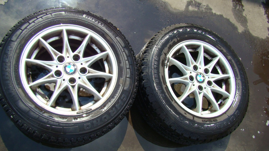 KOŁA ALUMINIOWE BMW 215/65 R16 KPL