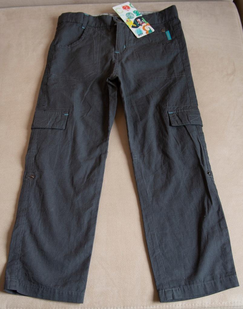 NOWE! Spodnie bojówki 2 w 1. r.116 COCCODRILLO