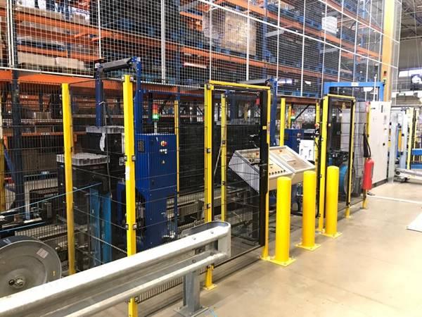 Linia do pakowania taśmą PP Mosca 2xKOF 311 2011r