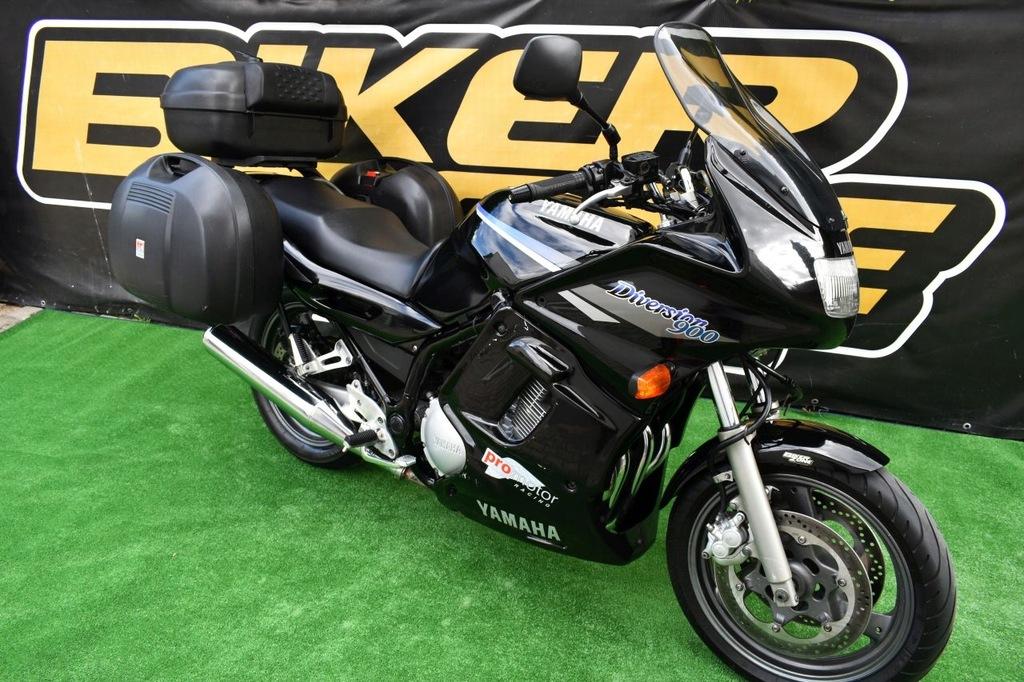 Yamaha Xj 900 S Diversion 1996 Kufry Rej Pl Raty 9533877351 Oficjalne Archiwum Allegro